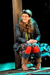 Joanna Horton as Celia in As You Like It. Photo by Keith Pattison