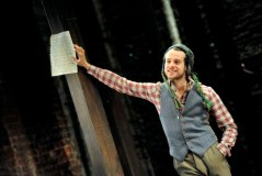Alex Waldmann as Orlando in As You Like It. Photo by Keith Pattison